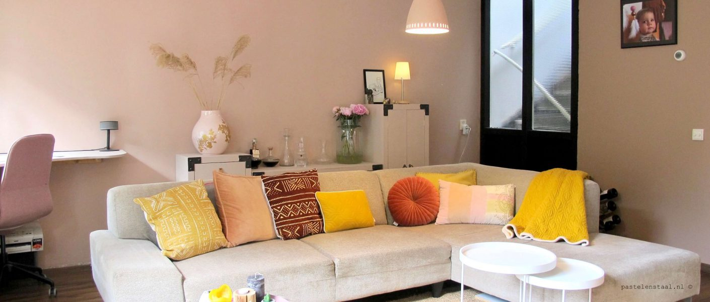 Interieur styling woonkamer